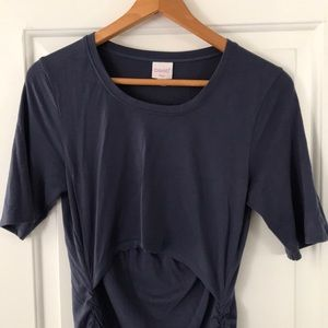 Boob Design Flatter Me short sleeve nursing top